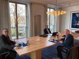Rencontre avec Kimmo Närhinen, Conseiller agricole de l'Ambassade de Finlande